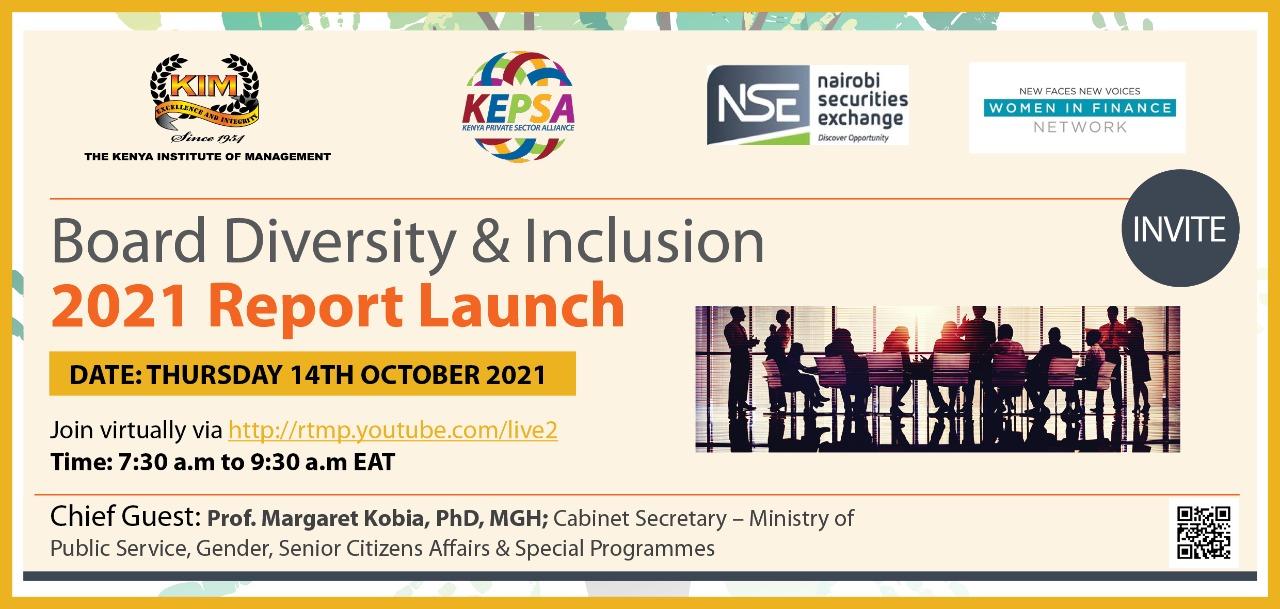 Board Diversity & Inclusion Report Launch